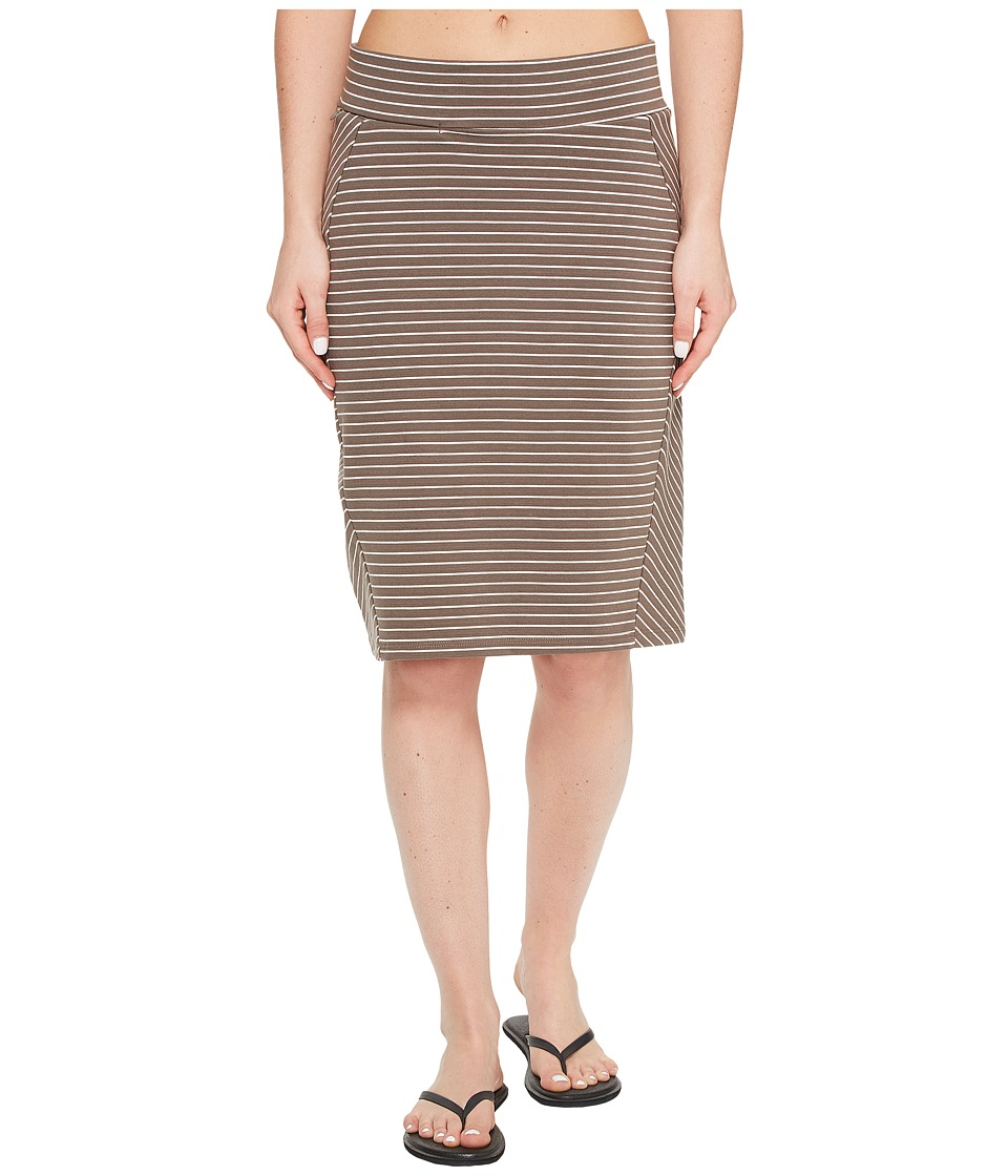 Toad&Co Transita Skirt (Falcon Thin Stripe) Women