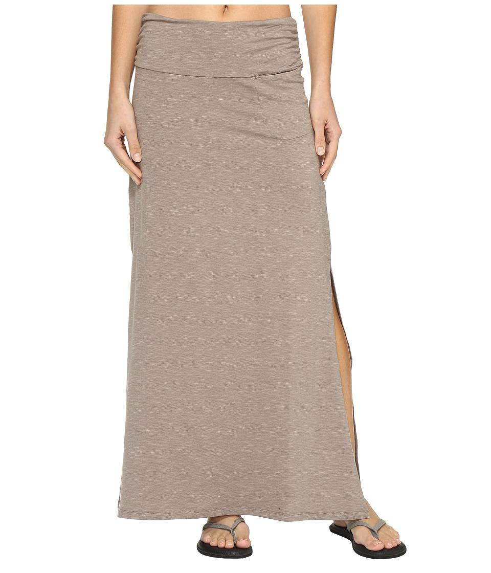 Toad&Co Montauket Long Skirt (Cocoa) Women
