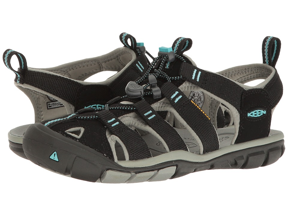 Keen Clearwater CNX (Black/Radiance) Women's Shoes