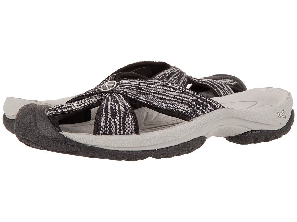 Keen - Bali (Neutral Gray/Black) Womens Shoes
