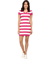 U.S. POLO ASSN. - Stripe Cable V-Neck Dress