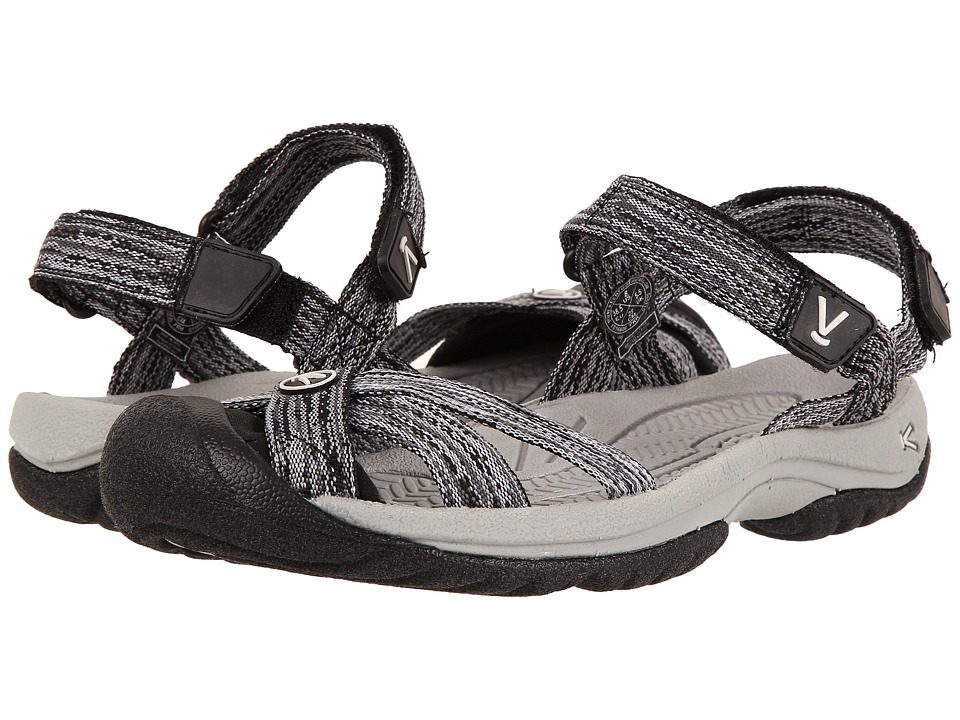 Keen Bali Strap (Neutral Gray/Black) Women