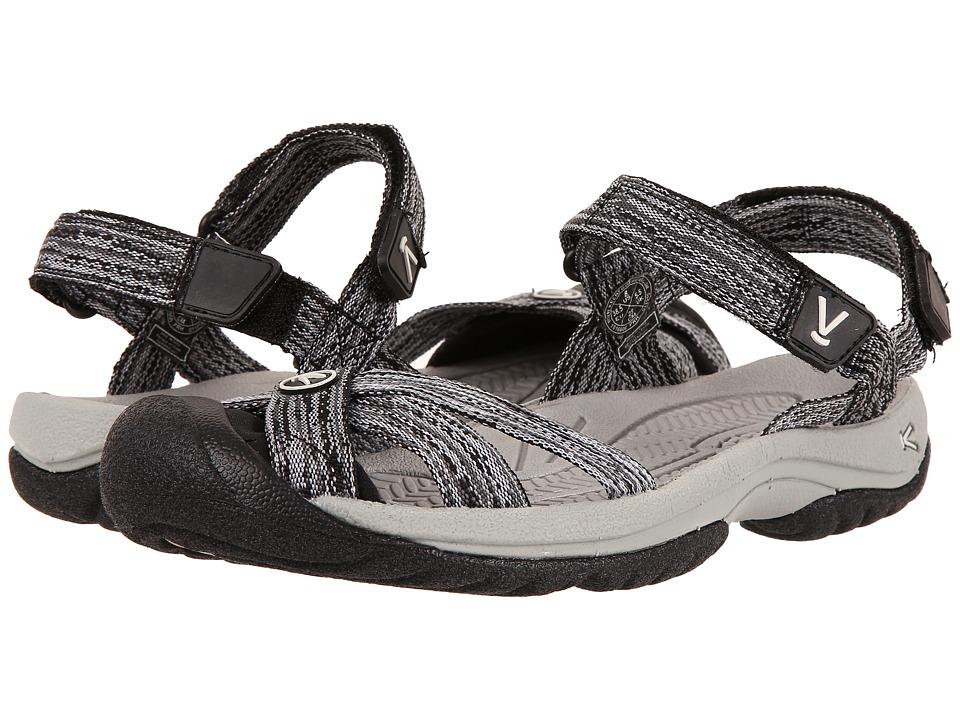 Keen Bali Strap (Neutral Gray/Black) Women's Shoes