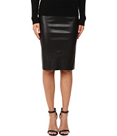 LAMARQUE - Avana Stretch Leather Pencil Skirt