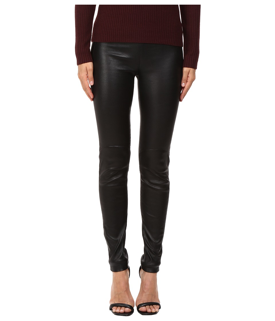 LAMARQUE - Kelly-L Stretch Leather Leggings (Black) Womens Casual Pants