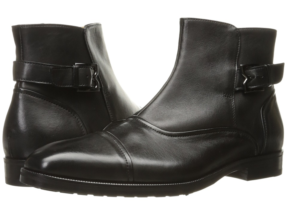 Bruno Magli Arcadia (Black Nappa) Men's Pull-on Boots