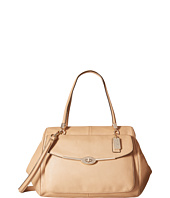 COACH - Madison Leather Large Madeline East/West Satchel