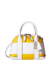 COACH - Bleecker Striped Coated Convertible Mini Preston