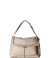 COACH - Madison Pinnacle Text Leather Large Shoulder Flap