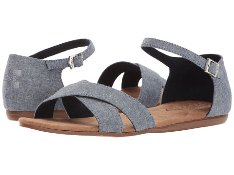 TOMS Correa Sandal - Blue Multi Speckle Chambray