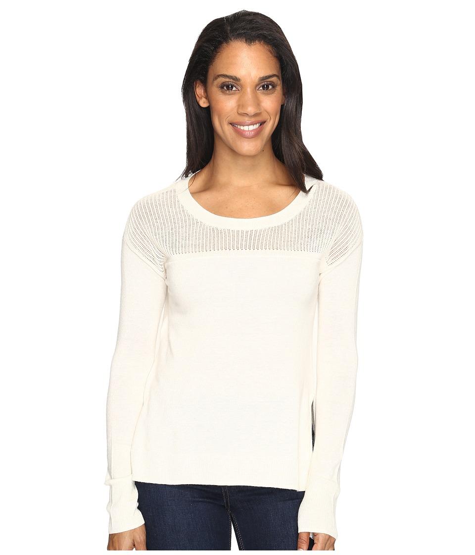 Toad&Co Jacinta Crew Sweater (Salt) Women