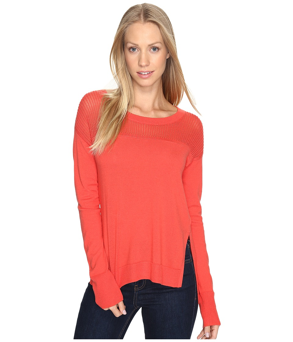 Toad&Co Jacinta Crew Sweater (Bright Coral) Women