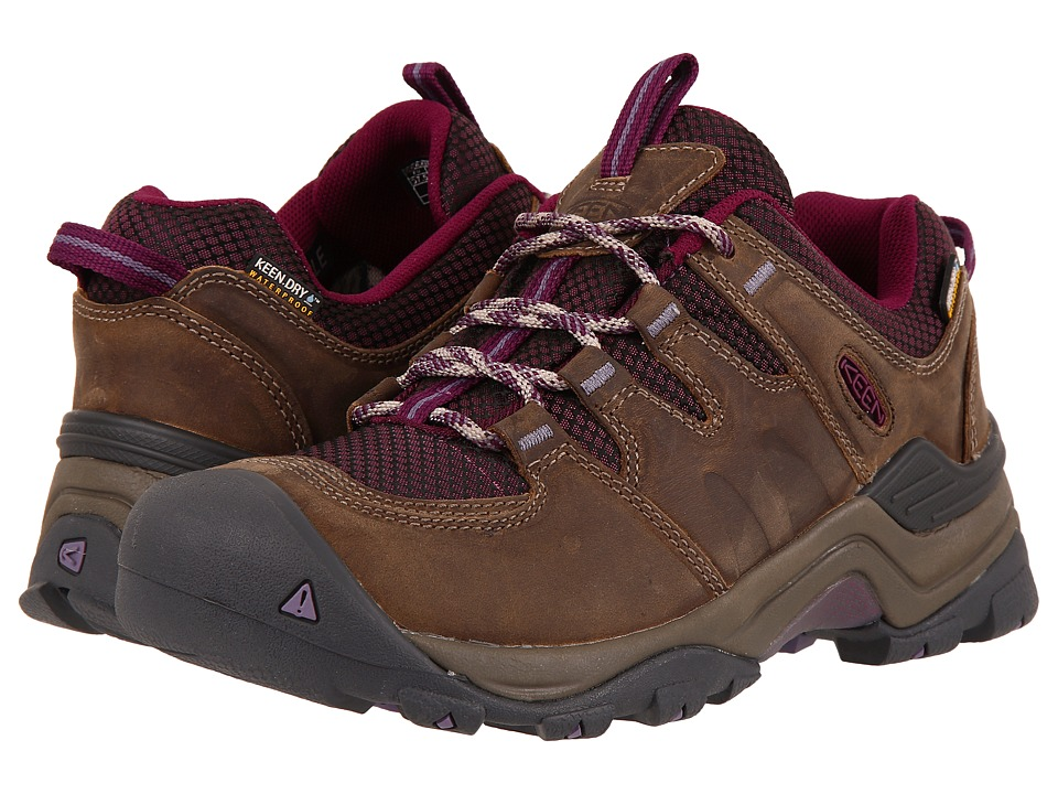 Keen Gypsum II Waterproof (Brindle/Dark Purple) Women