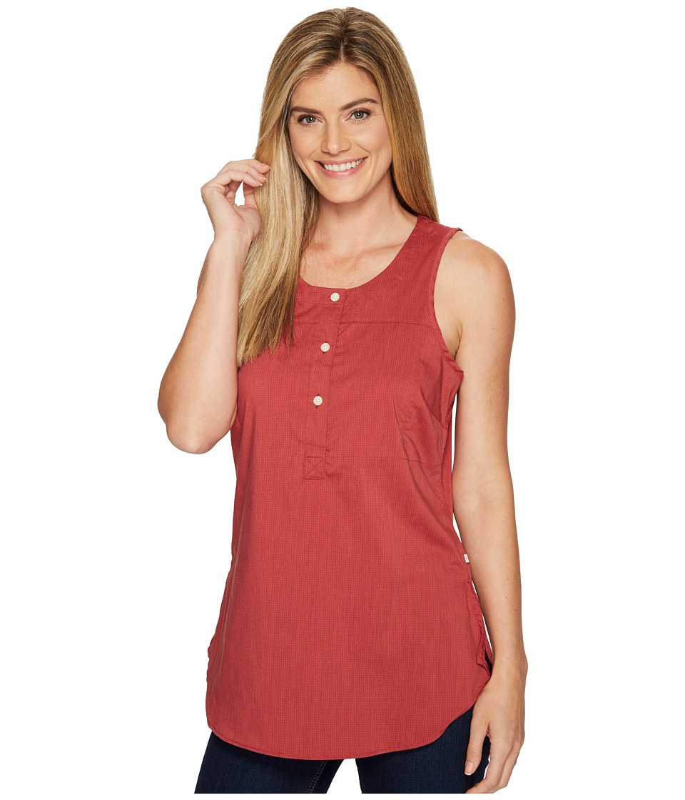 Toad&Co Panoview Tank Top (Bright Coral) Women