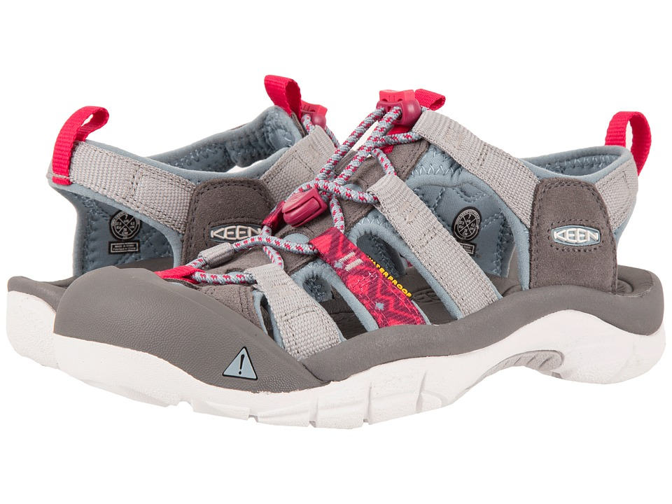 Keen Newport Evo H2 (Neutral Gray/Raspberry) Women