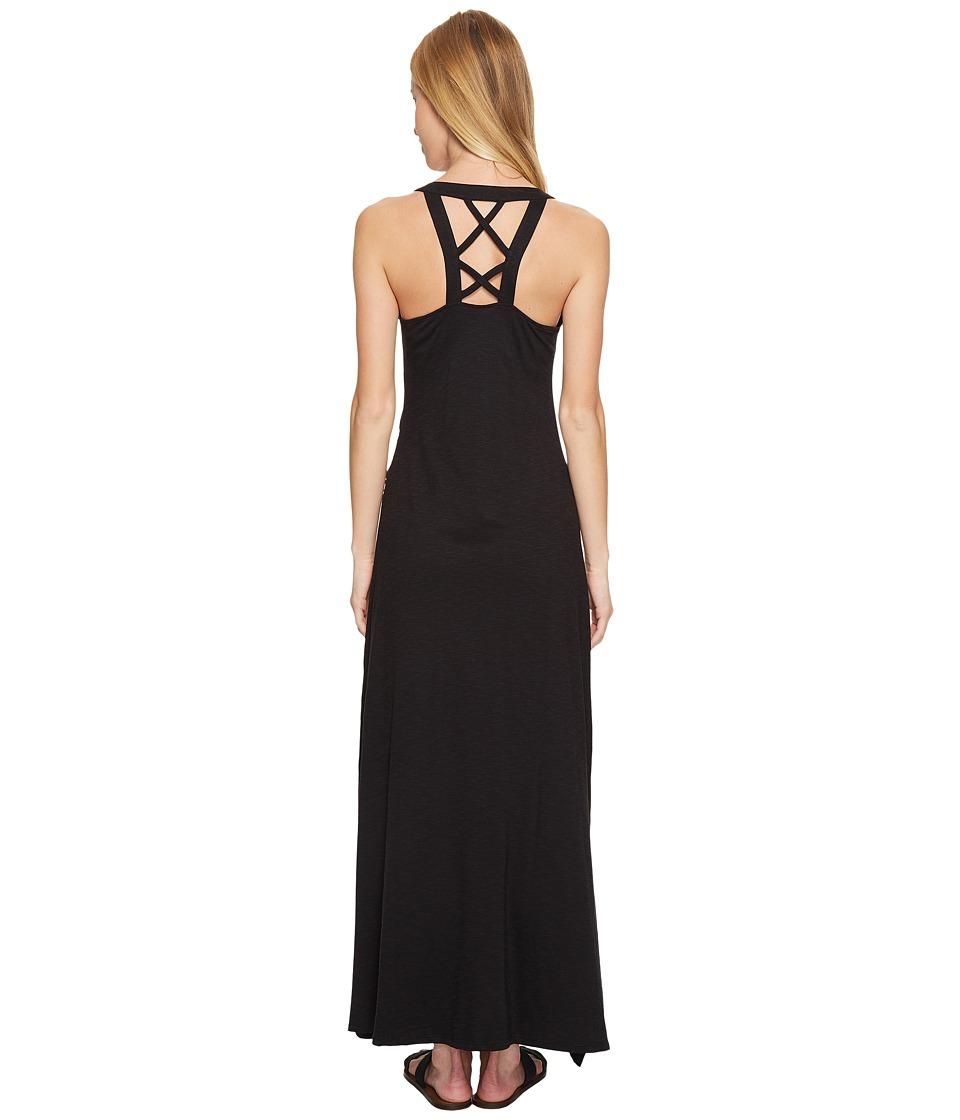 Toad&Co Montauket Long Dress (Black) Women