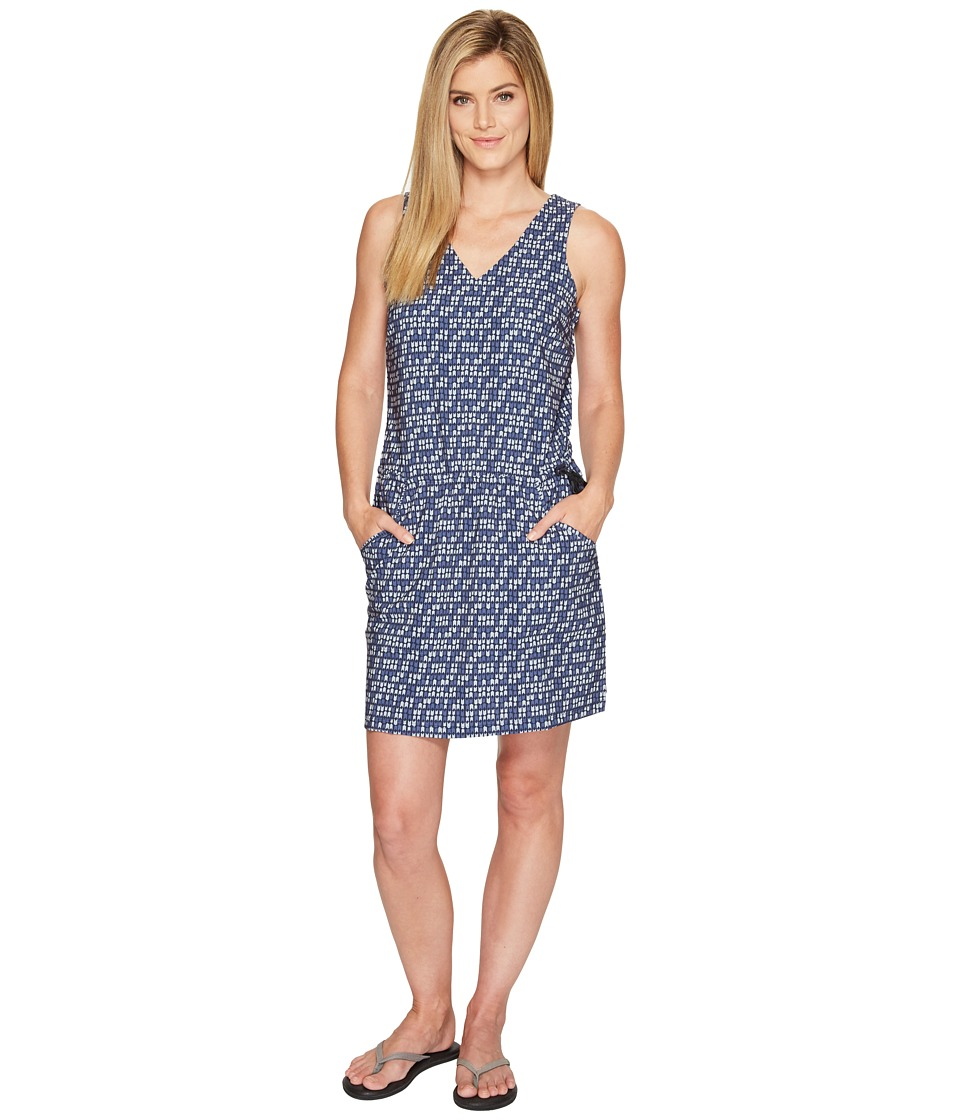 Toad&Co Liv Dress (Deep Navy Flag Print) Women