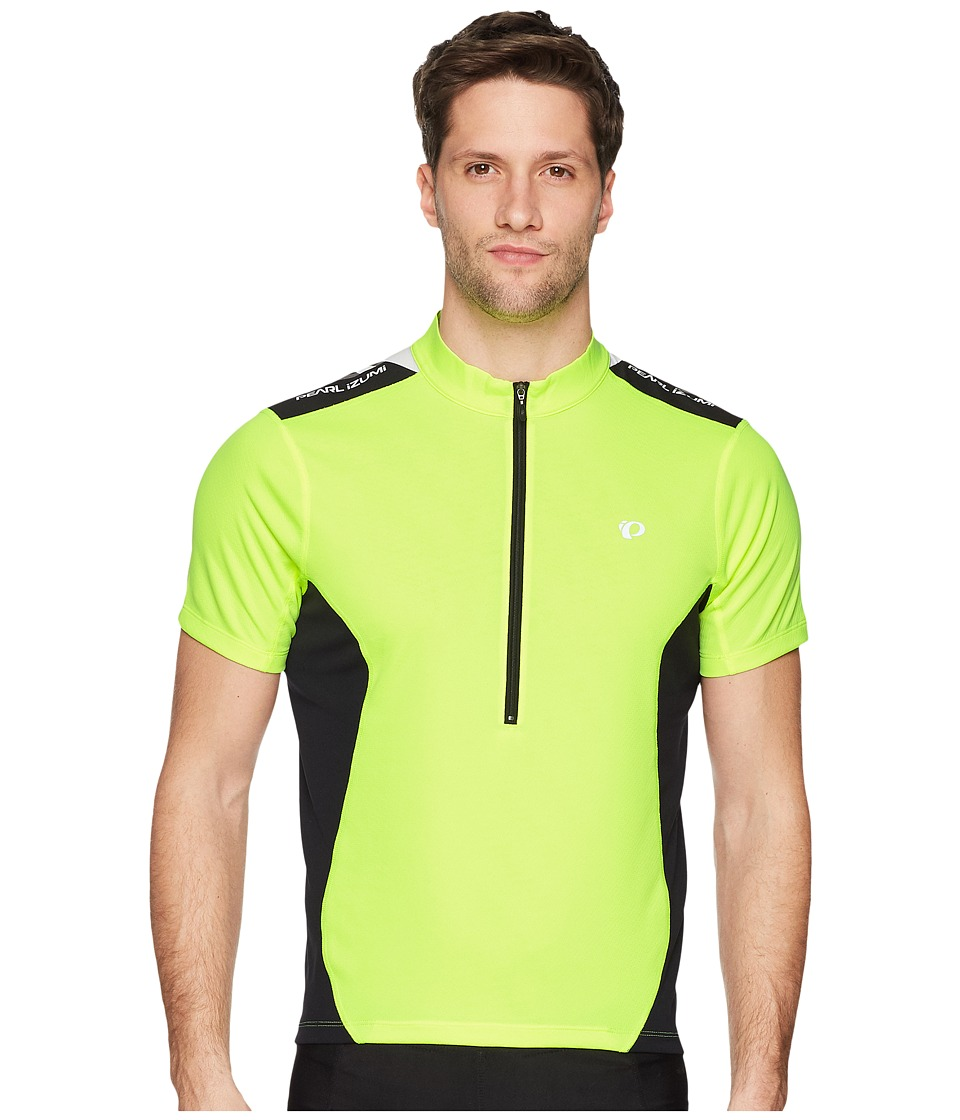 Pearl Izumi - Quest Jersey (Screaming Yellow/Black) Mens Clothing