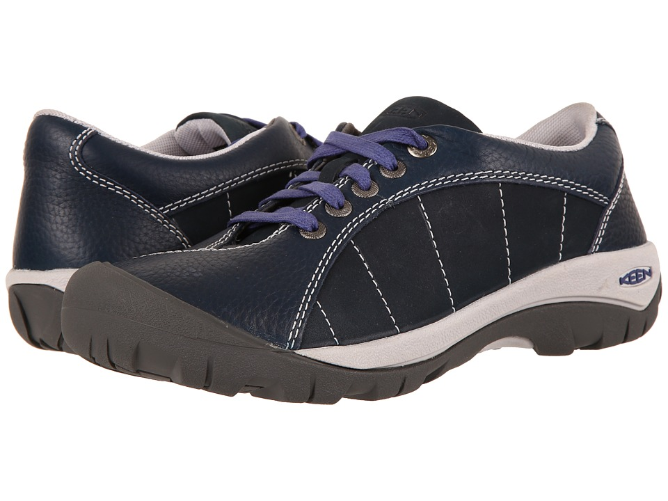 Keen Presidio (Blueberry) Women's Lace up casual Shoes