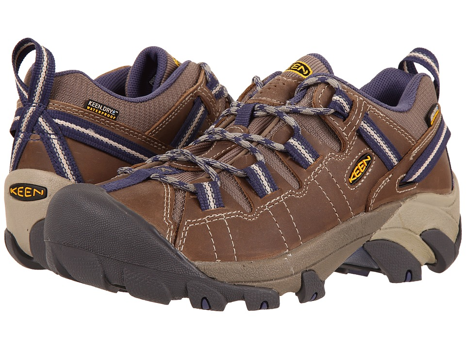 Keen Targhee II Waterproof (Goat/Crown Blue) Women