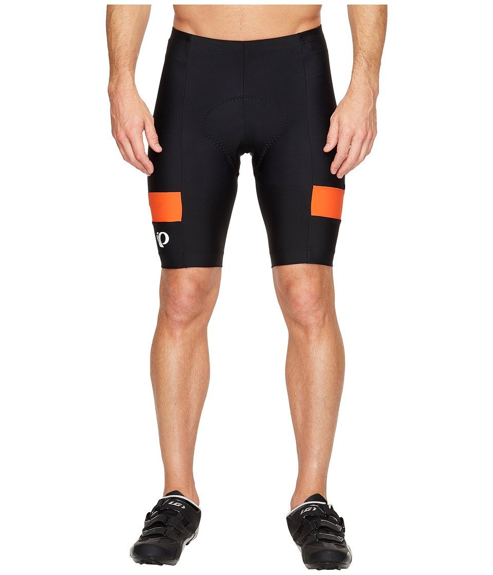 Pearl Izumi Quest Splice Shorts (Black/Orange) Men