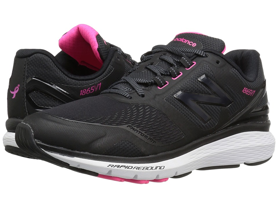 New Balance - WW1865v1 (Black/White) Womens Shoes