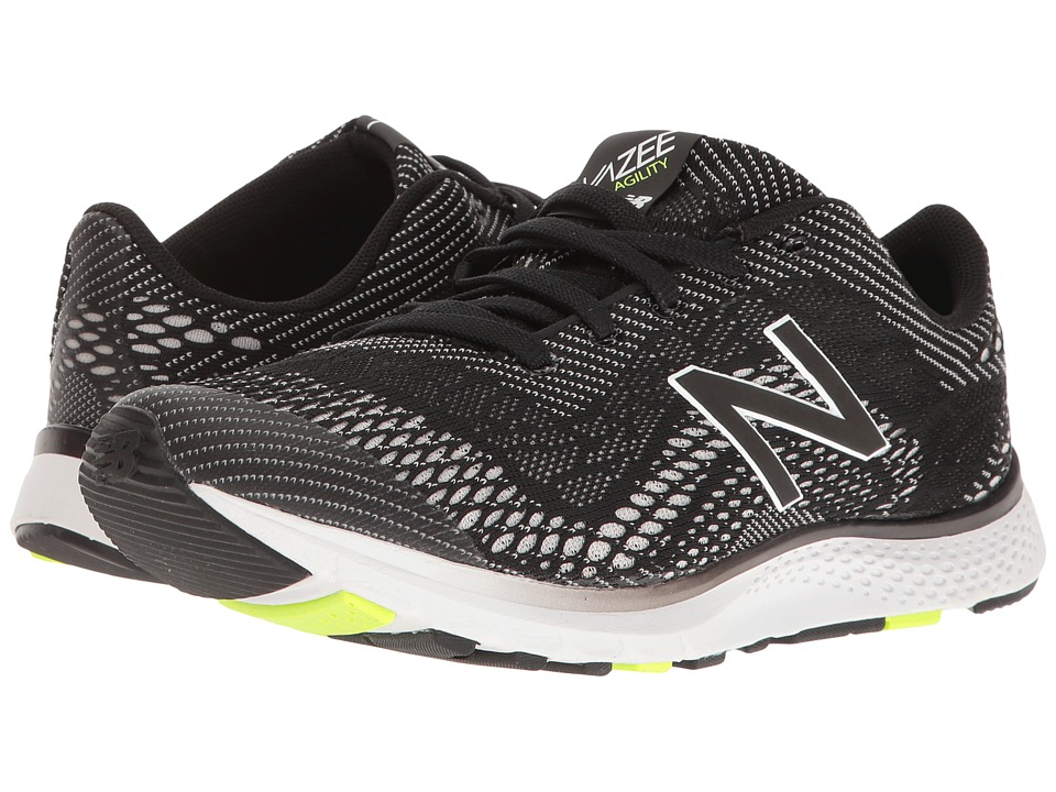 New Balance - Vazee Agility (Black/Lime Glo) Womens Running Shoes