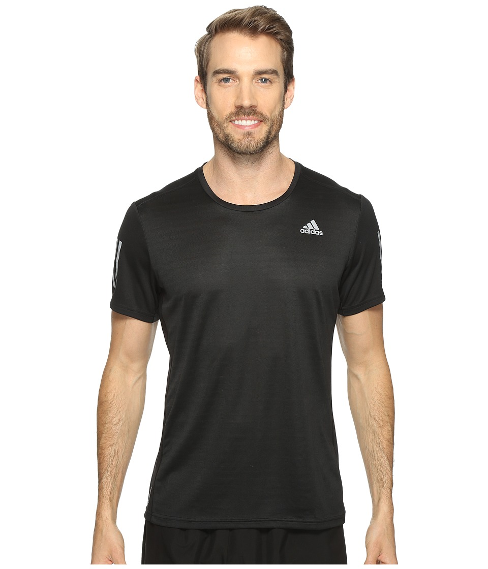 adidas Response Short Sleeve Tee (Black) Men