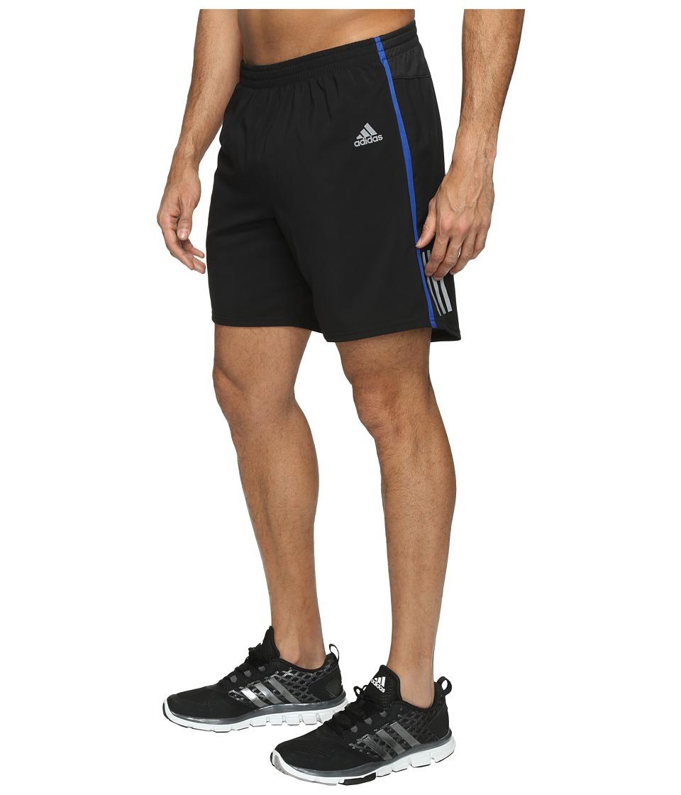 adidas Response 7 Shorts (Black/Collegiate Royal) Men