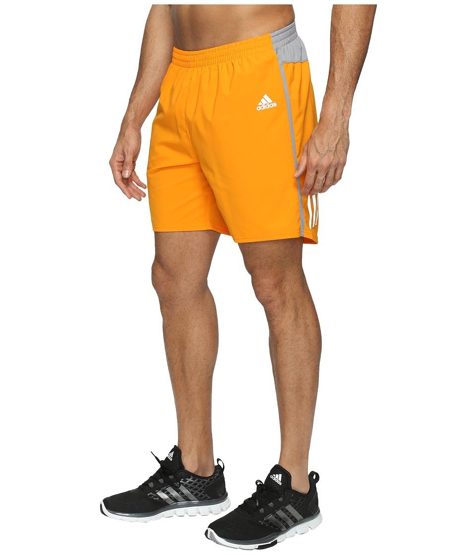 adidas Response 7 Shorts (Bright Orange) Men