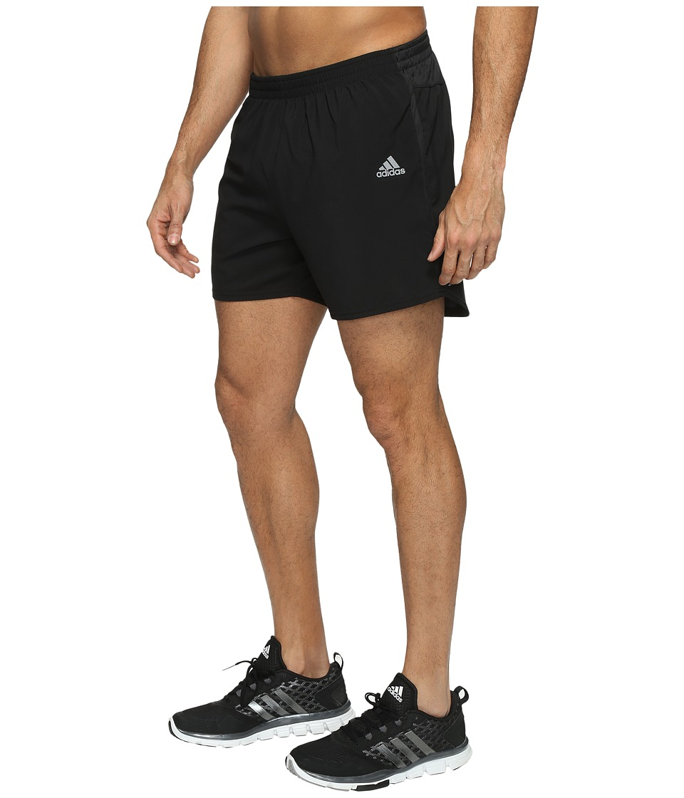 adidas - Response 5 Shorts (Black) Men's Shorts
