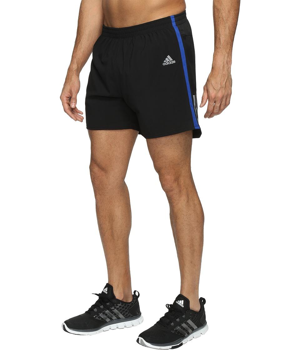 adidas Response 5 Shorts (Black/Collegiate Royal) Men
