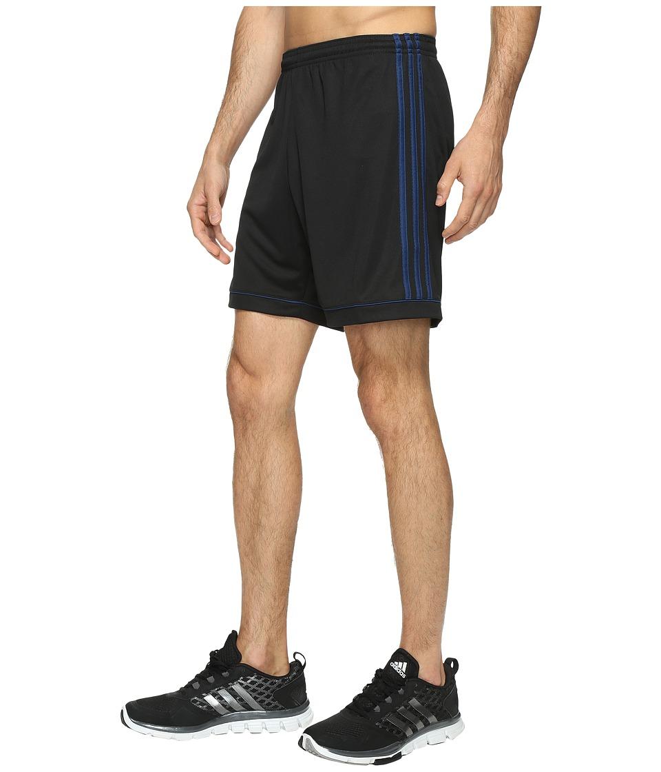 adidas Squadra 17 Shorts (Black/Mystery Blue S17) Men