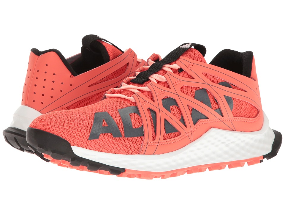adidas Running - Vigor Bounce (Easy Coral/Core Black/Footwear White) Womens Running Shoes