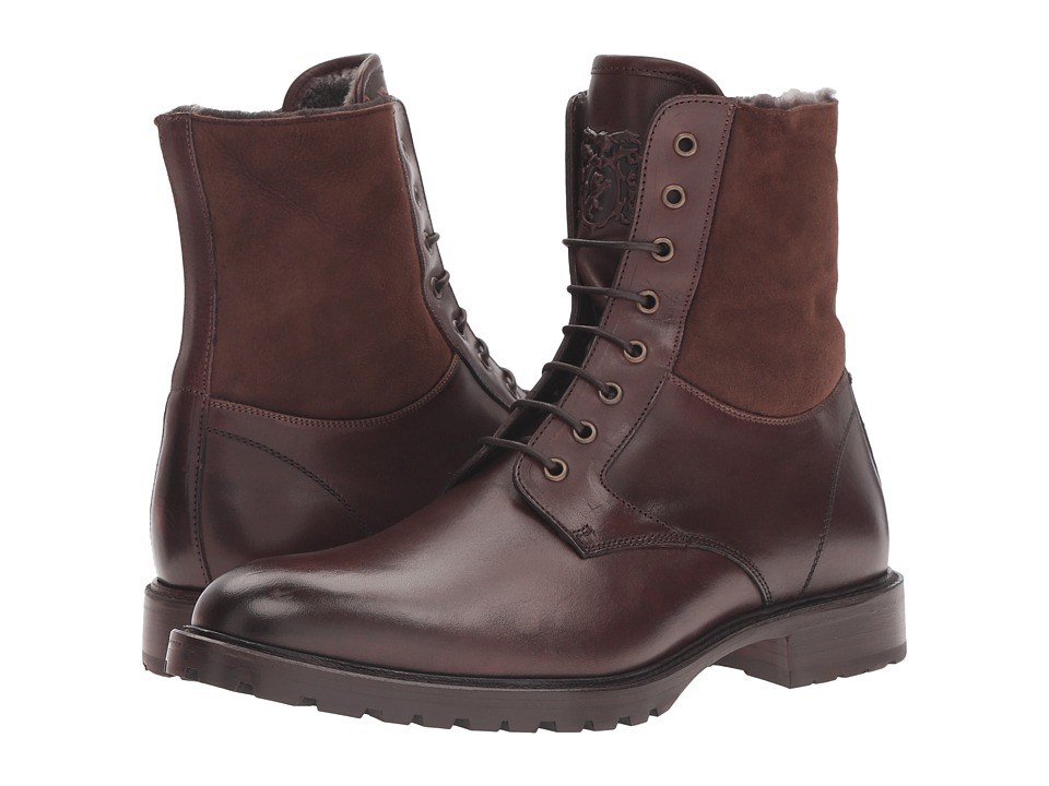 Bruno Magli - Lotto (Dark Brown Cordovan/Shearling) Men