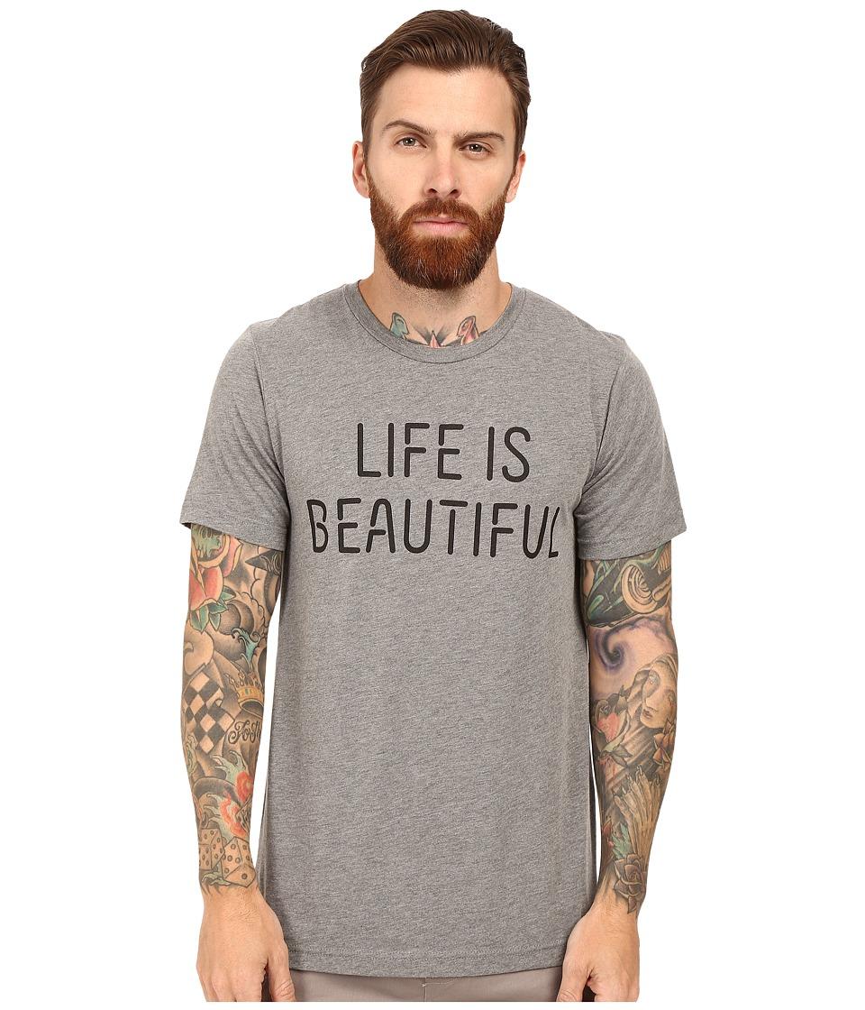 Life is Beautiful - Lib Stack - Crew Neck Tee