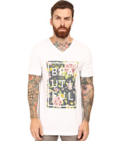 Life is Beautiful - Beautiful Box Floral - V-Neck Tee