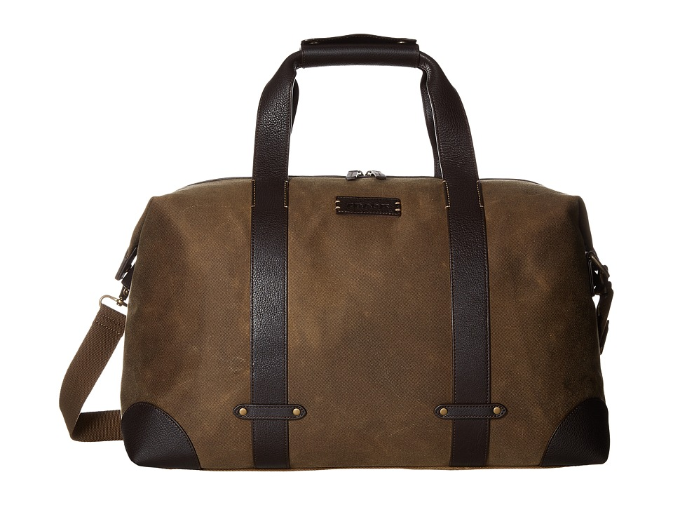 Trask - Bridger Trail Duffel (Ranger Tan Waxed Canvas/Steer Trim) Duffel Bags
