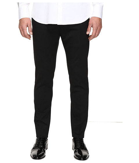DSQUARED2 Admiral Chic Fit Stretch Wool Pants - Black