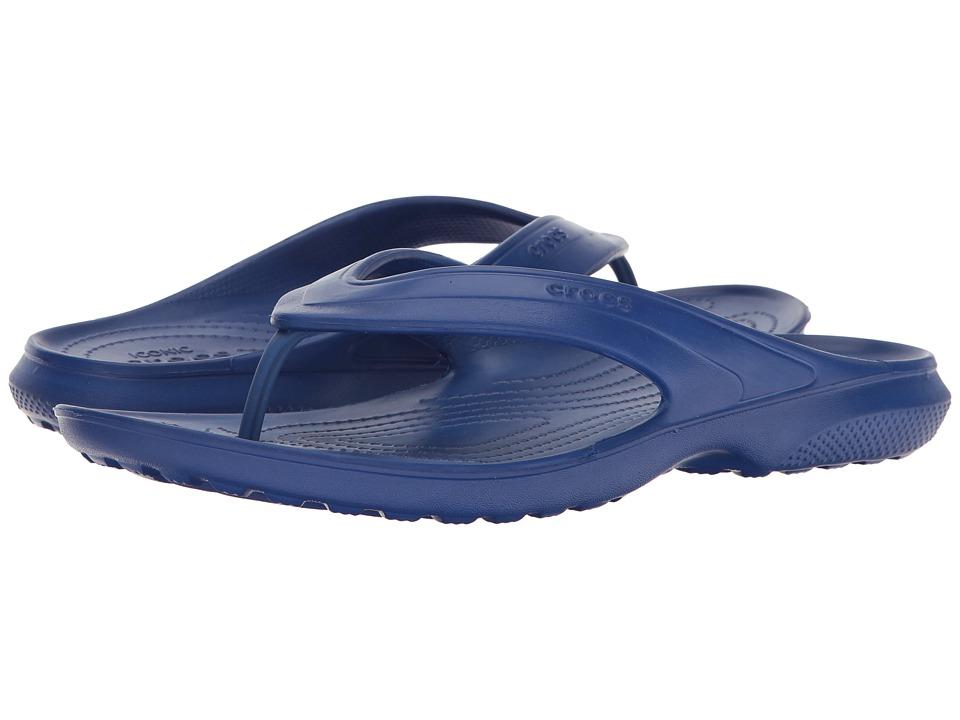 Crocs Classic Flip (Cerulean Blue) Slide Shoes