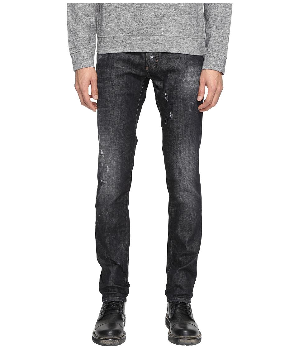 DSQUARED2 - Slim Jeans in Black