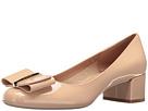 Salvatore Ferragamo Salvatore Ferragamo Patent Leather Low-Heel Pump