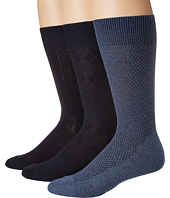 Cole Haan - Textured Argyle Crew 3-Pack