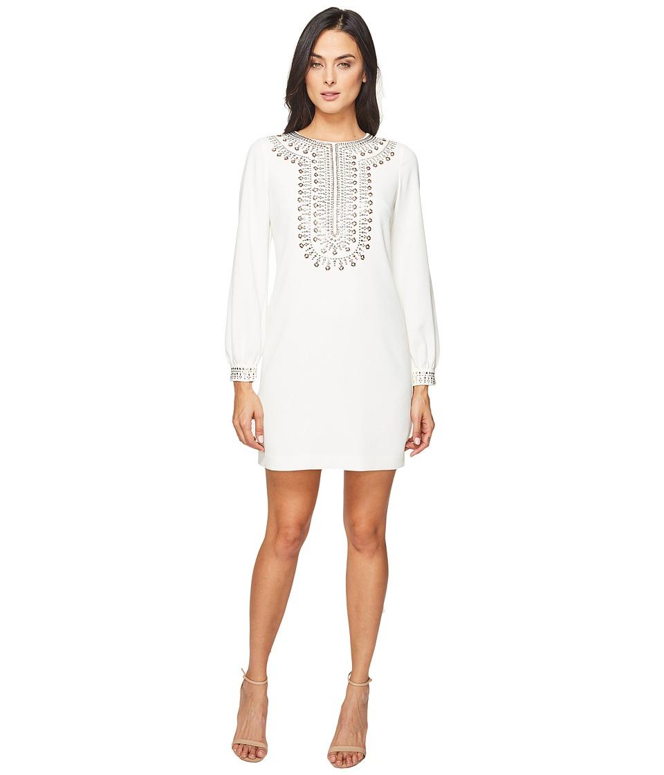 Trina Turk Kapono Dress (Whitewash) Women
