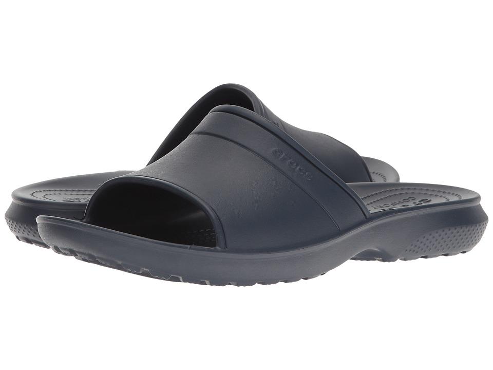 Crocs Classic Slide (Navy) Slide Shoes