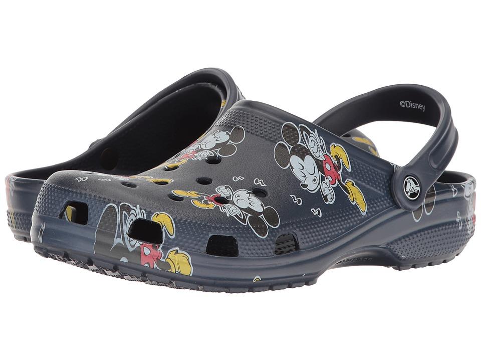 Crocs Classic Mickey Clog (Multi) Clog/Mule Shoes