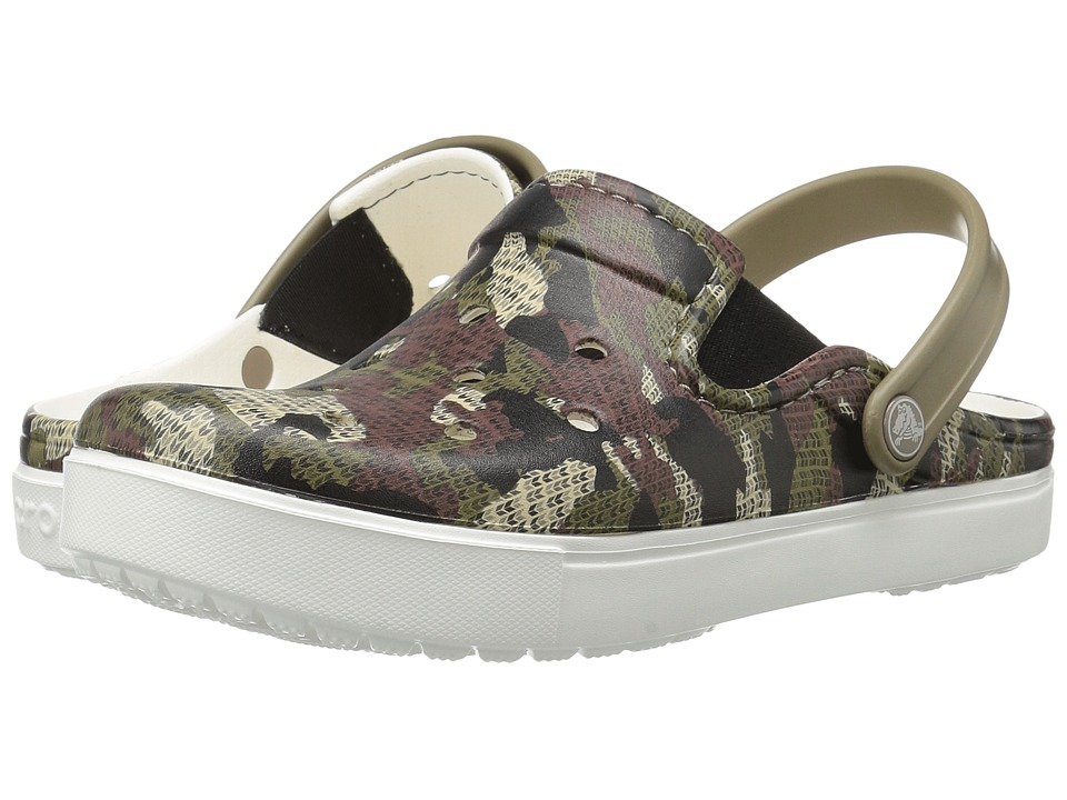 Crocs CitiLane Graphic Clog (Khaki) Clog/Mule Shoes