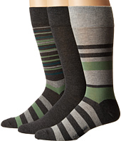 Cole Haan - Town Stripe Crew 3-Pack