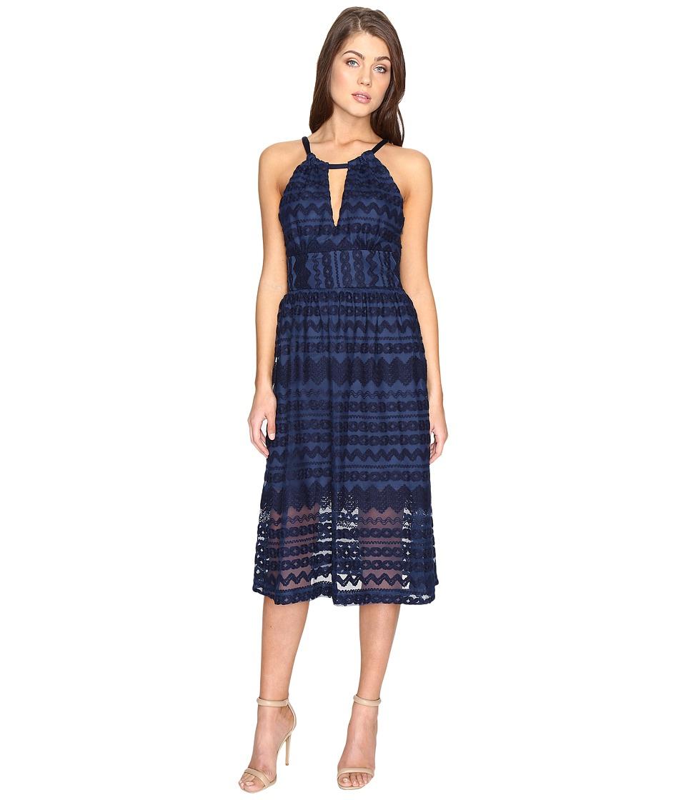 Trina Turk Nijo Dress (Indigo) Women