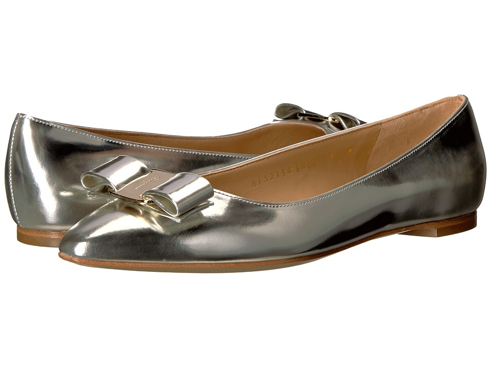 Salvatore Ferragamo Emy 1 (Butter/Oro New Helmut) Women